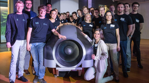 WARR-Hyperloop-Team Quelle: dpa