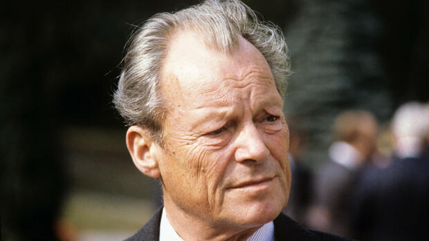 Willy Brandt Quelle: dpa