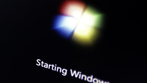 Windows 7 Startbildschirm Quelle: AP