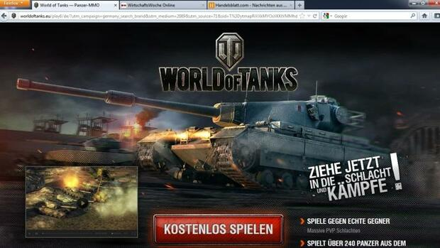 World of Tanks Quelle: Screenshot