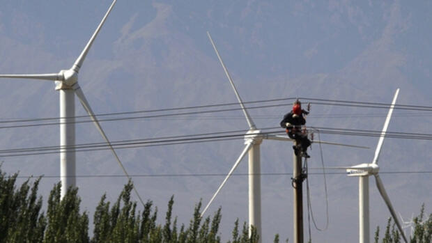 Xinjiang Tianfeng Wind Power Quelle: REUTERS