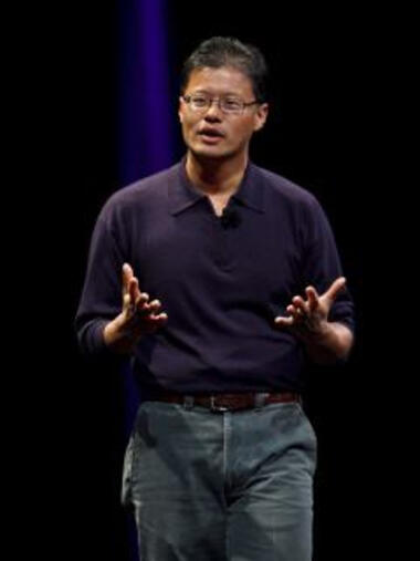 Yahoo-Chef Jerry Yang Quelle: dpa