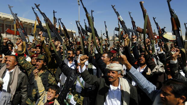Shiite Houthi Group Quelle: dpa