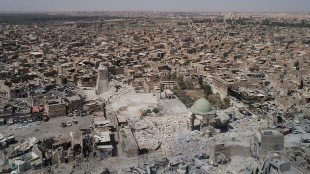 Noch immer sind rund 2,5 Millionen Iraker im eigenen Land vertrieben Quelle dpa