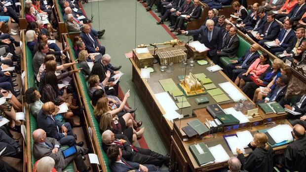 Zwangspause Britisches Parlament