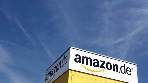 Logo amazon Quelle: dpa